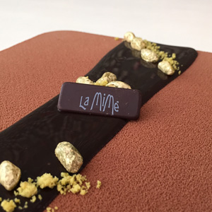Chocolate y pistacho