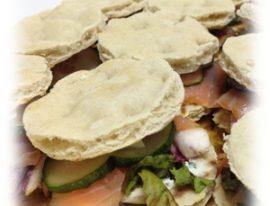 Mini sandwiche noruego